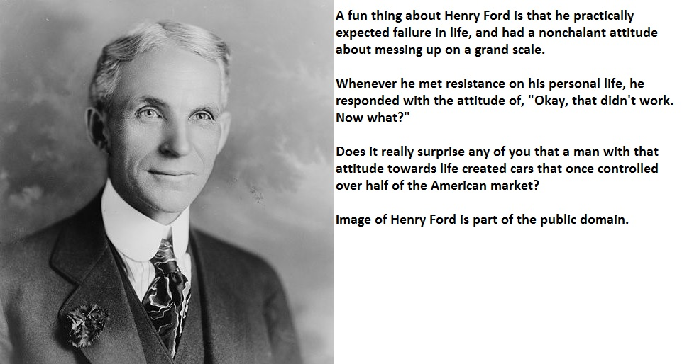 Ford Quote Classy Three Quotes From Henry Ford About Overcoming Failure  The