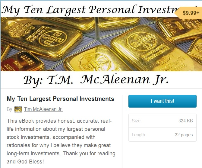 My Ten Largest Investments